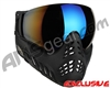V-Force Profiler Paintball Mask - Shadow w/ Mirror Blue Lens