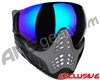 V-Force Profiler Paintball Mask - Shark w/ Kryptonite Lens