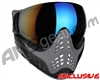 V-Force Profiler Paintball Mask - Shark w/ Mirror Blue Lens