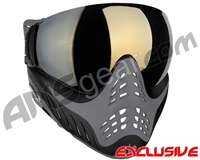 V-Force Profiler Paintball Mask - Shark w/ Mirror Gold Lens