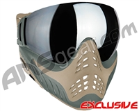 V-Force Profiler Paintball Mask - Swamp w/ Mirror Silver Lens
