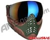 V-Force Profiler Paintball Mask - Terrain w/ Mirror Blue Lens
