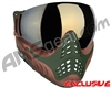 V-Force Profiler Paintball Mask - Terrain w/ Mirror Gold Lens