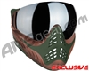 V-Force Profiler Paintball Mask - Terrain w/ Quicksilver` Lens