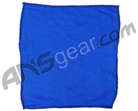 "Warrior Paintball Microfiber Goggle Cloth - 12"" x 12"" - Blue"