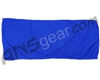 "Warrior Paintball Microfiber XL Goggle Cloth - 12"" x 28"" - Blue"