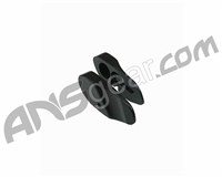 Warrior Paintball Proto Rail Aluminum Eye Cover Set - Black