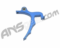 Warrior Paintball PMR Saw Rolling Trigger - Dust Blue