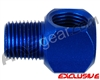 Warrior 1/8 Inch NPT 90 Degree Elbow - Cobalt