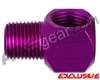 Warrior 1/8 Inch NPT 90 Degree Elbow - Electric Purple