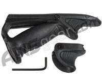 Warrior Angled Foregrip & Support Kit - Black