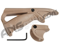 Warrior Angled Foregrip & Support Kit - Tan