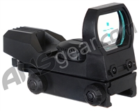 Warrior Basic Reflex Sight w/ Green Cross Reticle - Black