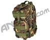 Warrior Paintball Tactical Backpack - Woodland Camo
