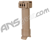 Warrior Tactical Foregrip w/ Retractable Bipod - Tan