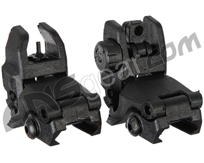 Warrior Front & Rear Flip Up Sights
