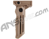 Warrior Paintball Folding Foregrip - Tan