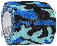 Warrior Paintball Grip Tape - Blue Camo
