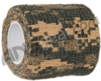 Warrior Paintball Grip Tape - Digital Tiger Stripe