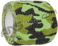 Warrior Paintball Grip Tape - Green Camo