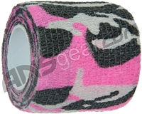 Warrior Paintball Grip Tape - Pink Camo