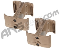 Warrior M4/M16 Magazine Coupler (2-Pack) - Tan