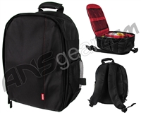 Warrior Paintball Backpack - Black/Red