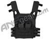 Warrior Low Profile Plate Carrier Paintball Vest - Black