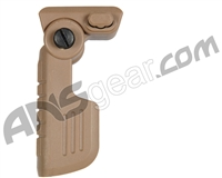 Warrior Paintball Quick Detach Folding Foregrip - Tan