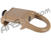 Warrior Paintball Steel Sling Mount Plate Adapter - Tan