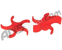 Warrior Paintball Soft Paddles For Cyclone Feed Systems - 98/A5/X7 - Red