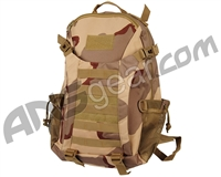 Warrior Tactical Backpack w/ Molle - Camo