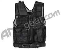 Warrior Crossdraw Tactical Vest - Black