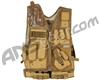 Warrior Crossdraw Tactical Vest - Coyote