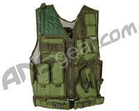 Warrior Crossdraw Tactical Vest - Olive