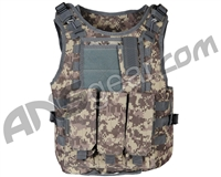 Warrior Paintball Tactical Molle Vest w/ Attachments - ACU