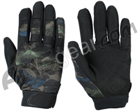 Warrior Paintball Tournament Gloves - Acid Green