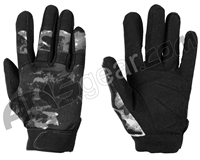 Warrior Paintball Tournament Gloves - Acid Grey