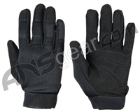 Warrior Paintball Tournament Gloves - Black