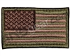 Warrior Velcro Morale Patch - US Flag - Olive/Tan/Brown