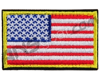 Warrior Velcro Morale Patch - US Flag - Red/White/Blue
