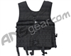 Warrior Paintball Zip Up Molle Vest - Black