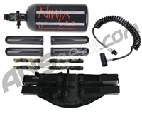4+1 Paintball Harness, Remote, 47/3000 Tank