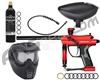 Kingman Fenix Starter Gun Package Kit - Gloss Red