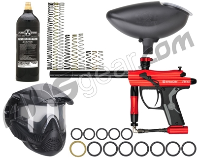 Kingman Fenix Vision Gun Package Kit - Gloss Red