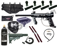 Tippmann 98 Custom Platinum Series - GXG X-VSN, 20 Oz Tank, 4+1, Remote, Stock